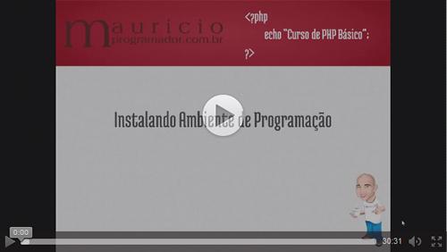 Ver Vídeo Aula de como Instalar o Ambiente de Programação