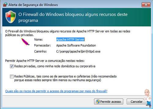 Imagem php servidor xamp permissao1