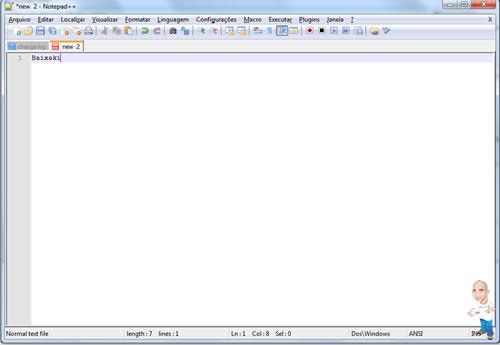 Imagem softwares desenvolvimento php notepad